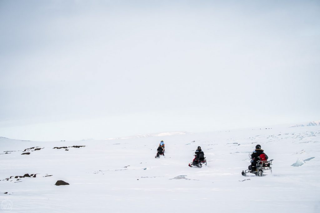 Svalbard tours snowmobile arctic adventure, Svalbard east coast