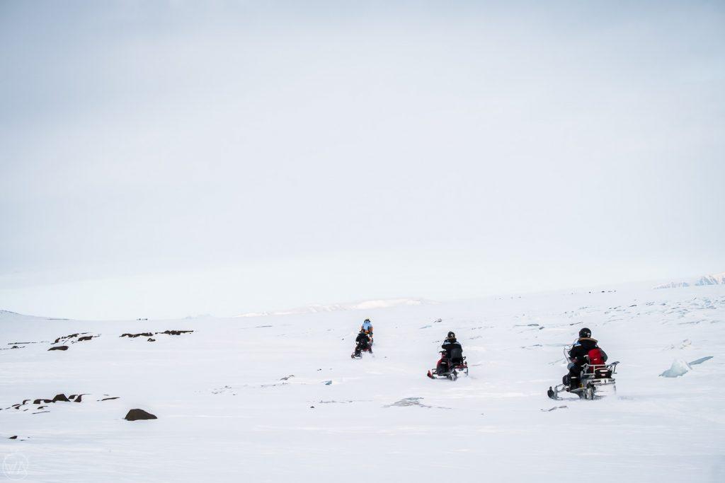 Svalbard tours snowmobile arctic adventure, Svalbard east coast
