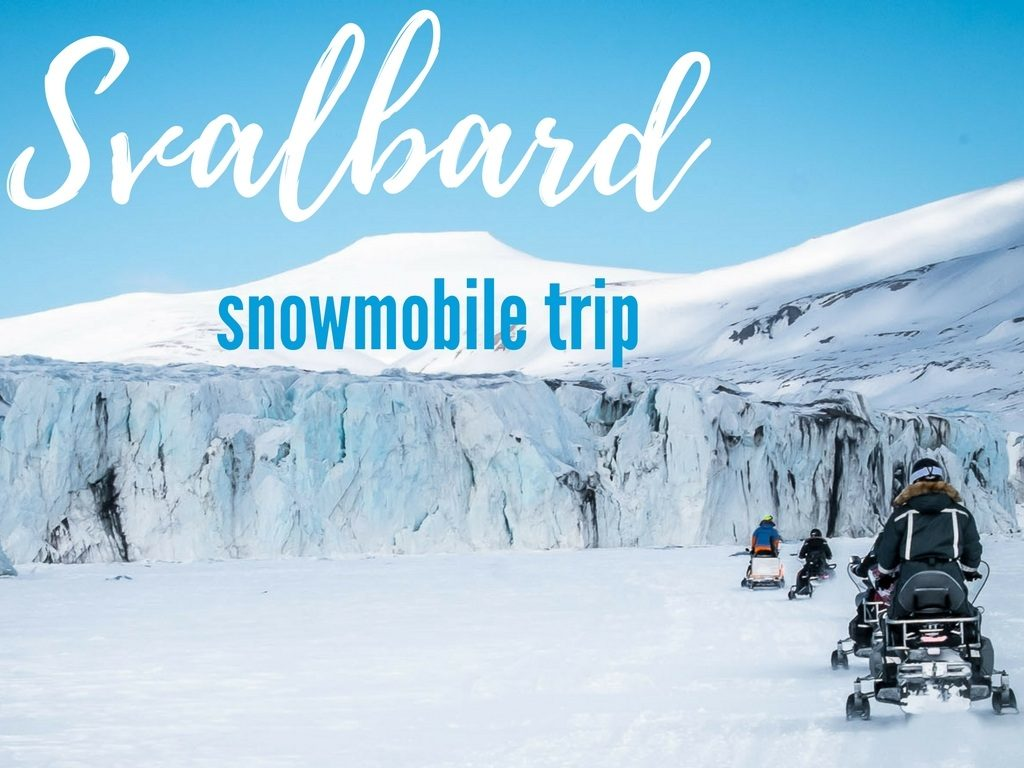 Svalbard tours on snowmobiles to the East coast
