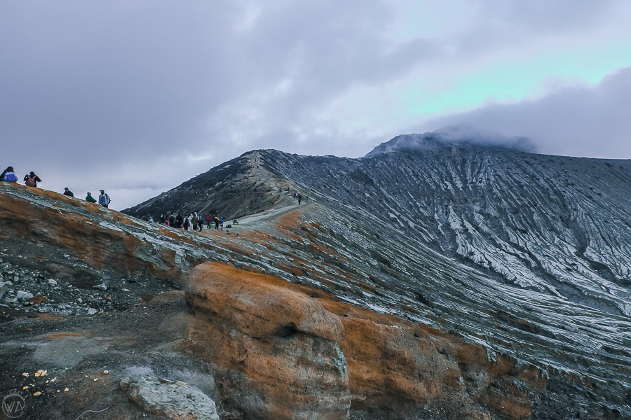 Kawah Ijen ridge
