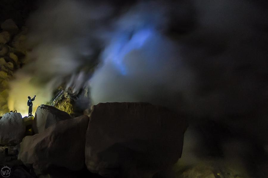 Blue Flames Ijen volcano hike, Kawah Ijen tour