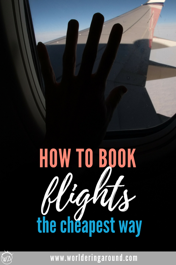 Find out how to book the cheapest flight and best hotels with the list of the best travel resources. I share some of my cheap flights hacks and the best websites to book cheap flights! #travelhack #cheapflights #flights #travel #travelresources | Worldering around
