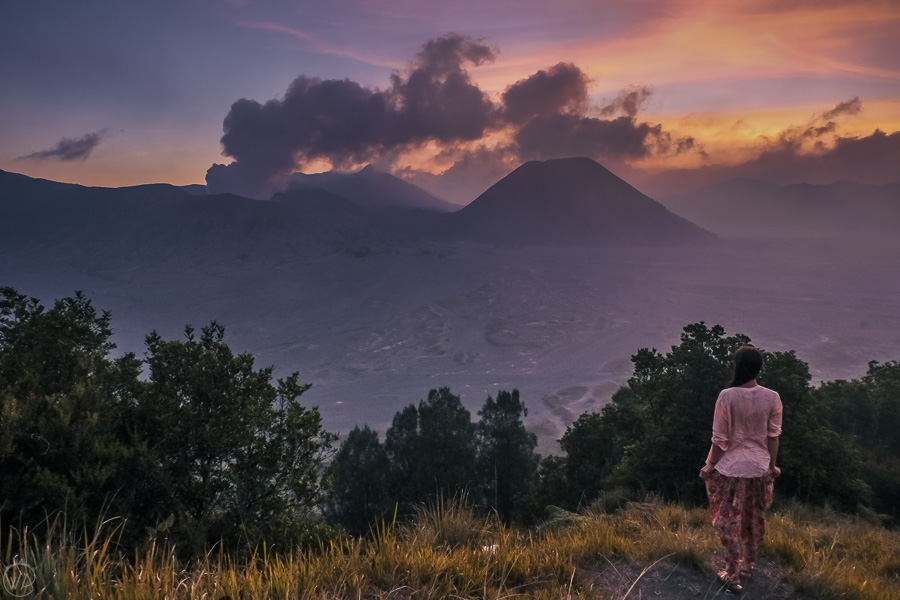 Mount Bromo sunset