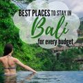 best places to stay in Bali, guide to help you decide where to stay in Bali with the cheapest places to stay in Bali and luxury villas in Bali, Indonesia