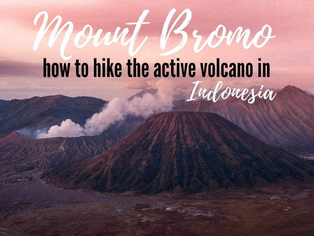 Mount Bromo hike for sunrise