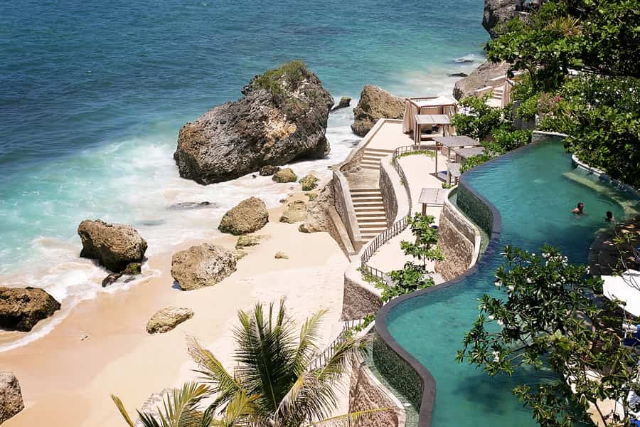 where to stay in Bali Jimbaran Bay