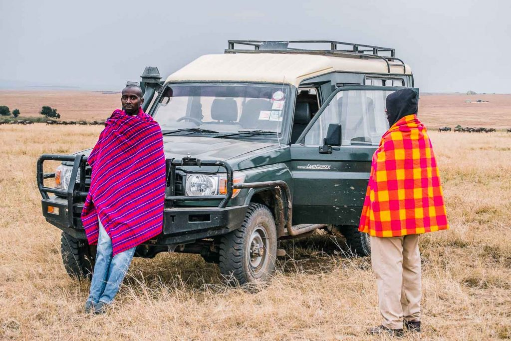 Masai Mara shawl is a good accessory to wear on safari in Kenya
