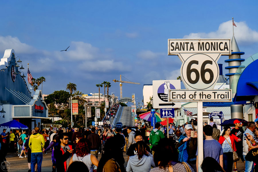 Santa Monica, LA, USA itinerary Southwest road trip
