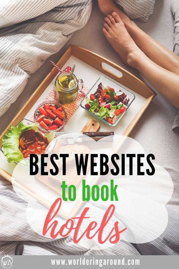 Best booking websites for booking hotels for cheap! Find the best hotel deals anywhere in the world | Worldering around #hotels #booking #website #budgettravel #travel #traveltips