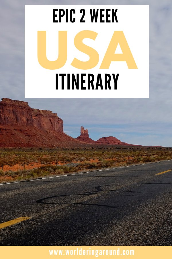 The ultimate road trip itinerary through America's Southwest with stops at national parks and monuments throughout Nevada, Utah and Arizona including the Grand Canyon, Horseshoe Bend, Zion, Antelope Canyon & more!