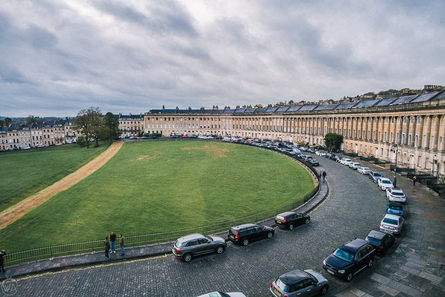 Places to visit in Bath, day trip to Bath Royal Crescent
