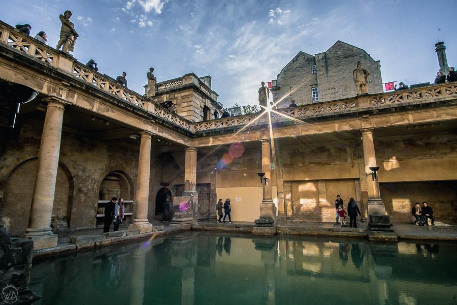 places to visit in Bath - Roman Baths