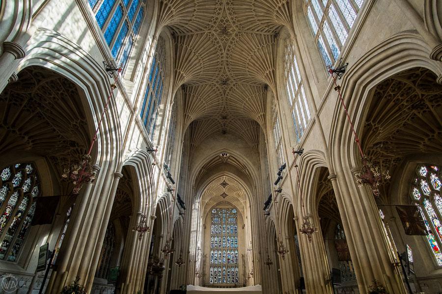 places to visit in Bath - Bath Abbey