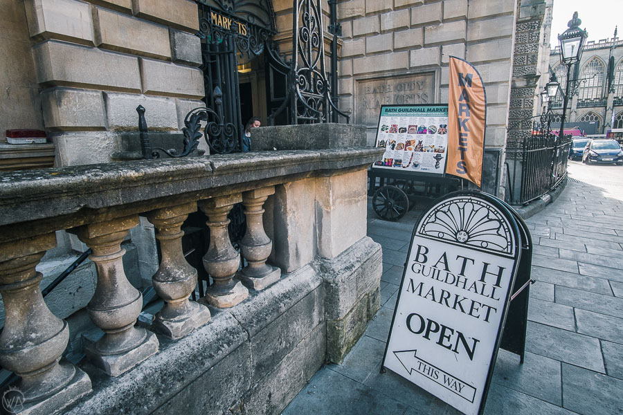 Bath Guidhall market, places to visit in Bath in weekend