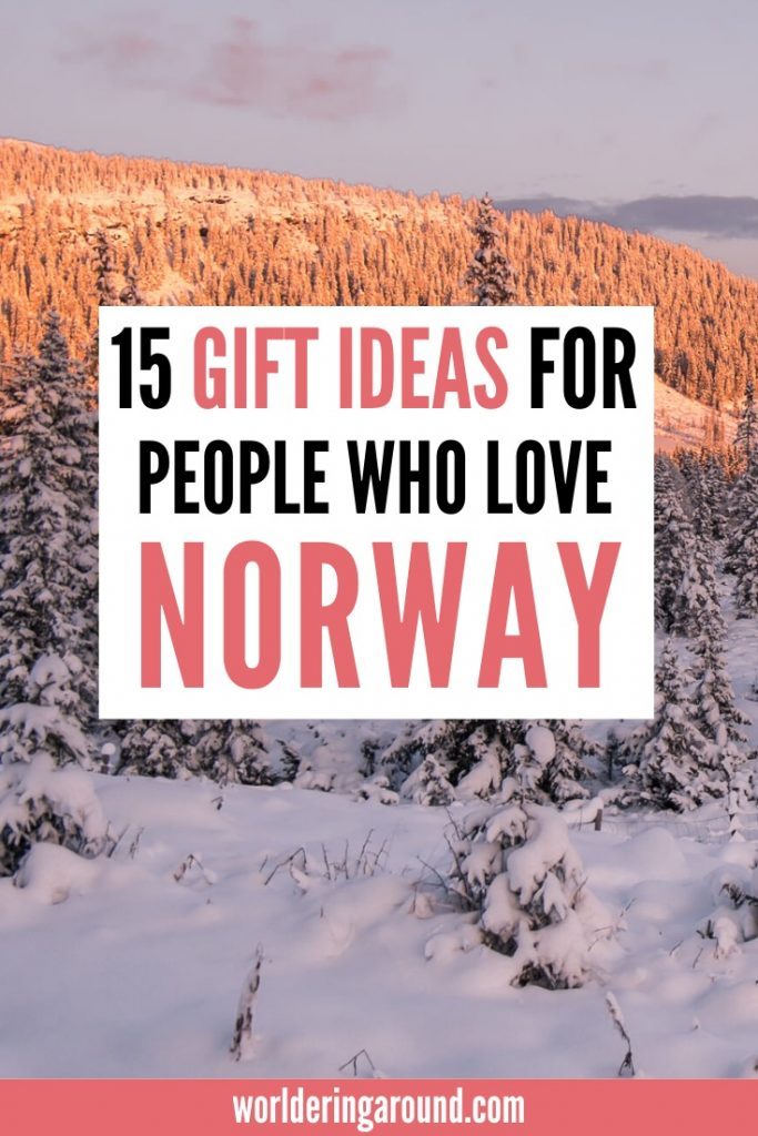 Best Norwegian gifts and souvenirs for people who love Norway. Find out what are the best Norwegian gifts are and get them for yourself or your loved ones | Worldering around #Norway #gifts #Christmas #giftguide #Scandinavia #oslo #souvenirs