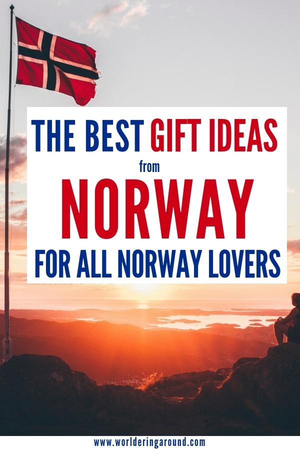 The best gift ideas from Norway, gifts for all Norway lovers. Find the perfect Norwegian gift from Scandinavia and Nordic region with the gift guide | Worldering around #Norway #Scandinavia #Nordic #gifts #giftguide #christmas