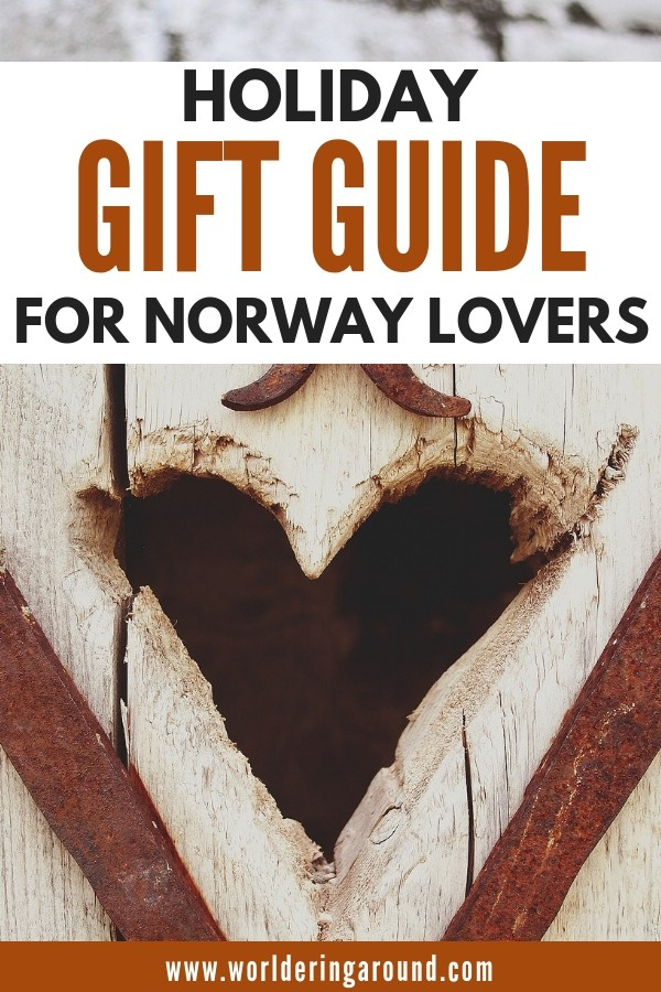 Best gift ideas for Norway lovers and Scandinavia enthusiasts! Holiday gift guide for Norway | Worldering around #giftguide #gifts #Norway #Scandinavia