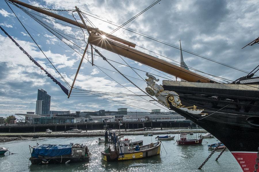 HMS Warrior 1860 - visit Portsmouth UK