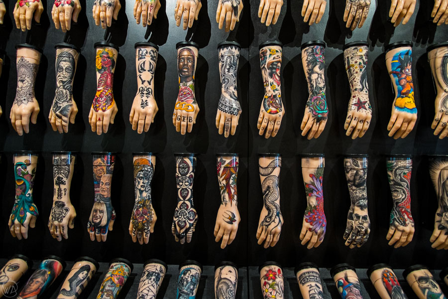 British Tattoo Art Revealed Exhibition - places to visit in Portsmouth UK