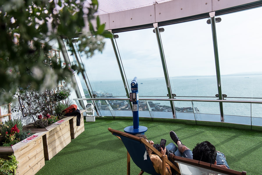 Places to visit in Portsmouth UK - Sky Garden
