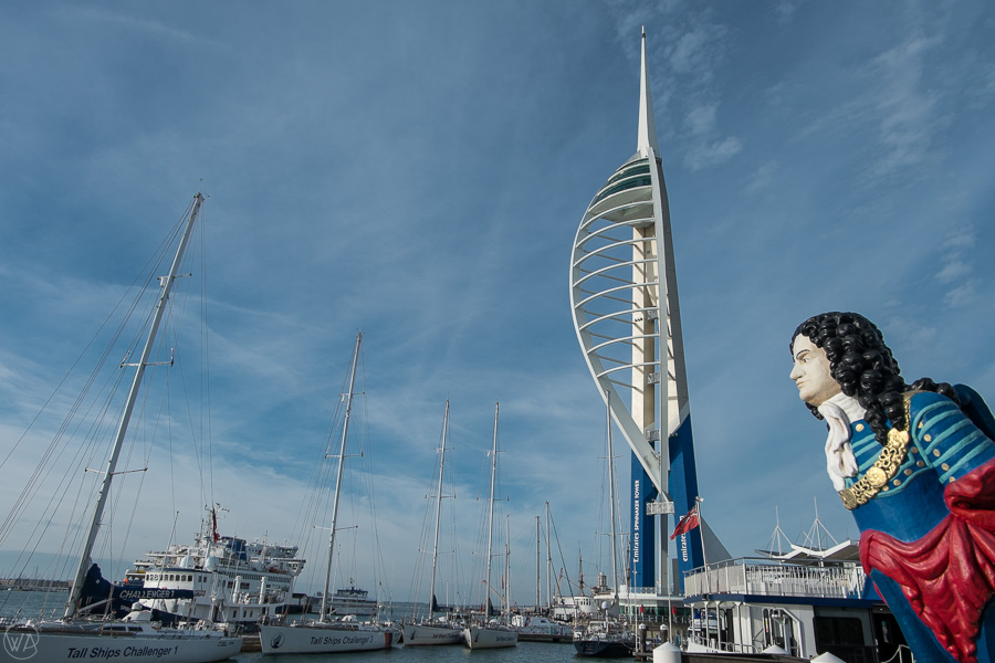 Emirates Spinnaker Tower in Portsmouth UK - places to visit in Portsmouth
