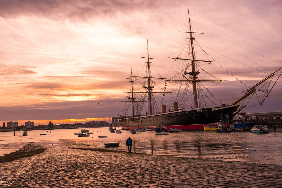HMS Warrior 1860 Portsmouth Dockyard - places to visit in Portsmouth