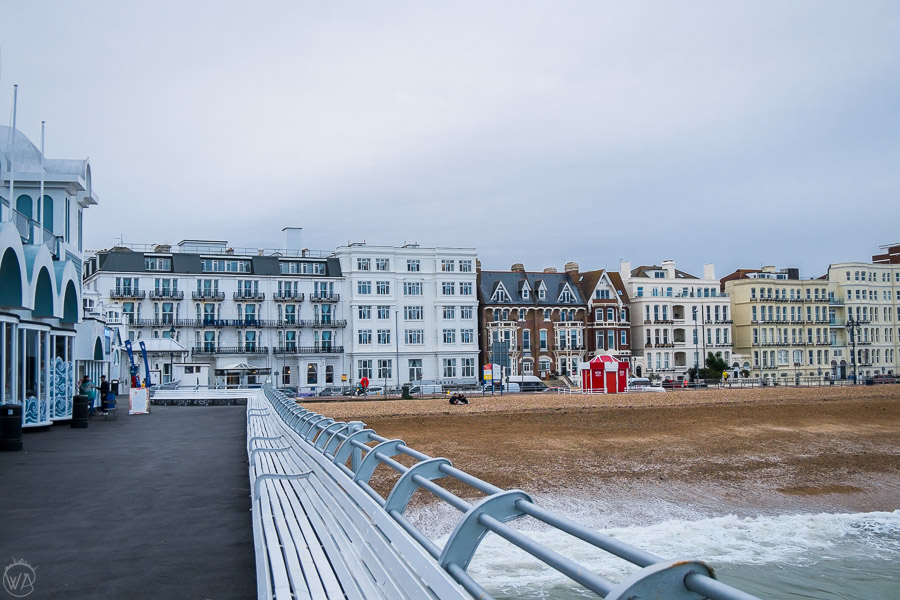 A view from the Pier in Southsea, Portsmouth - places to visit in Portsmouth UK