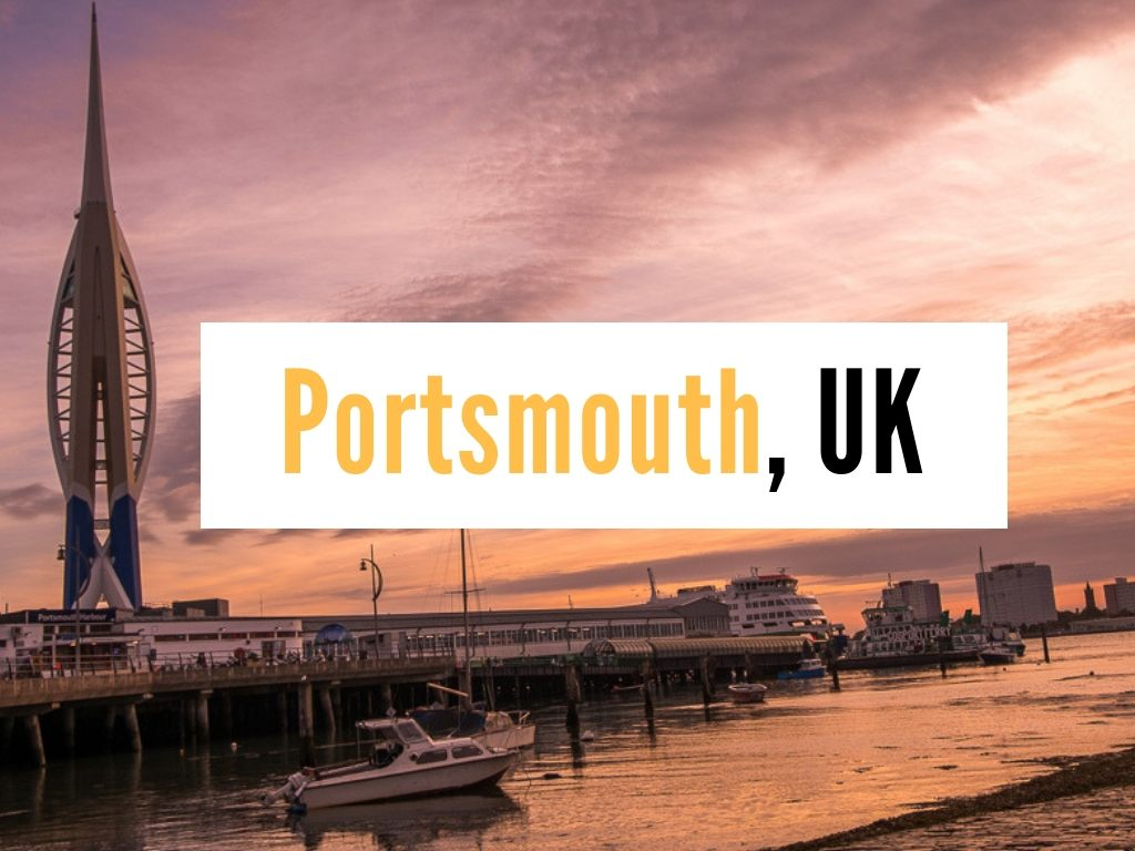 What places to visit in Portsmouth, UK – explore the coastal England