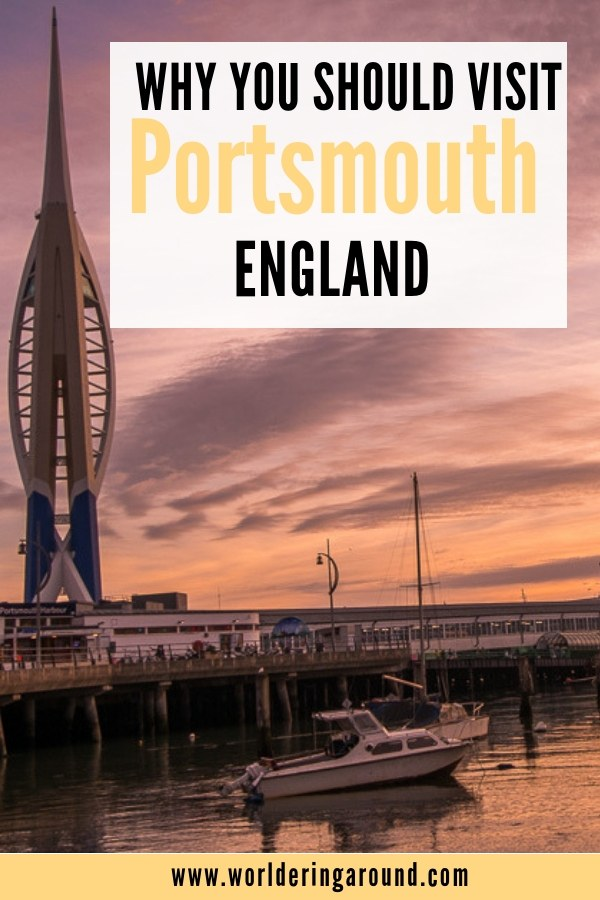 Things to do in Portsmouth, England. What places to visit in Portsmouth in England? Explore coastal town of the United Kingdom. | Worldering around #Portsmouth #UK #England #Europe