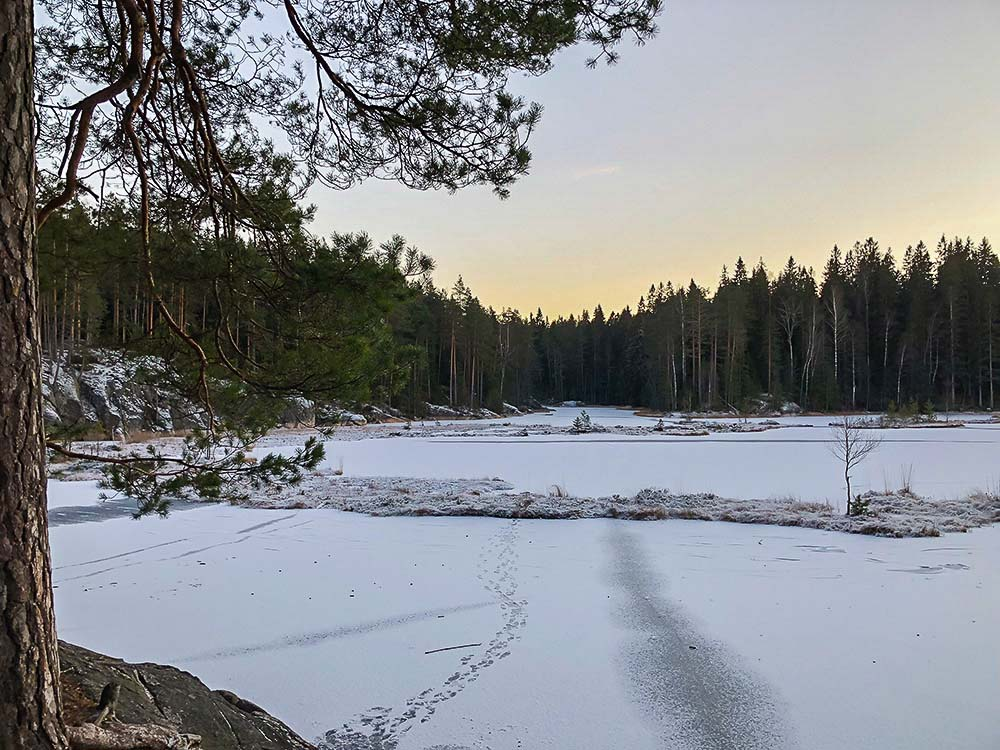Nuuksio National Park Finland, day trips Helsinki