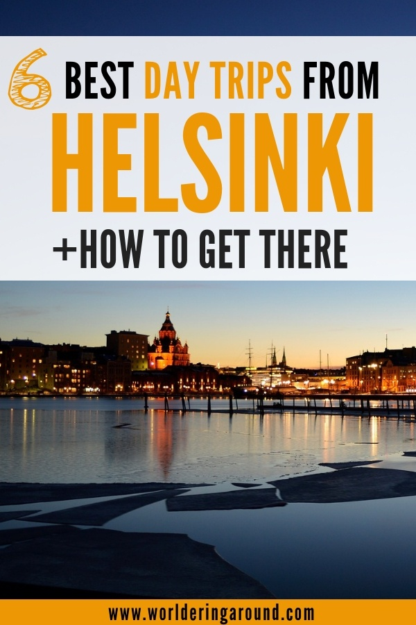 The best day trips from Helsinki with the guidance how to get there. | Worldering around #Helsinki #daytrips #finland #nuuksio #stpetersburg #tallinn #porvoo #Vallisaari #Suomenlinna