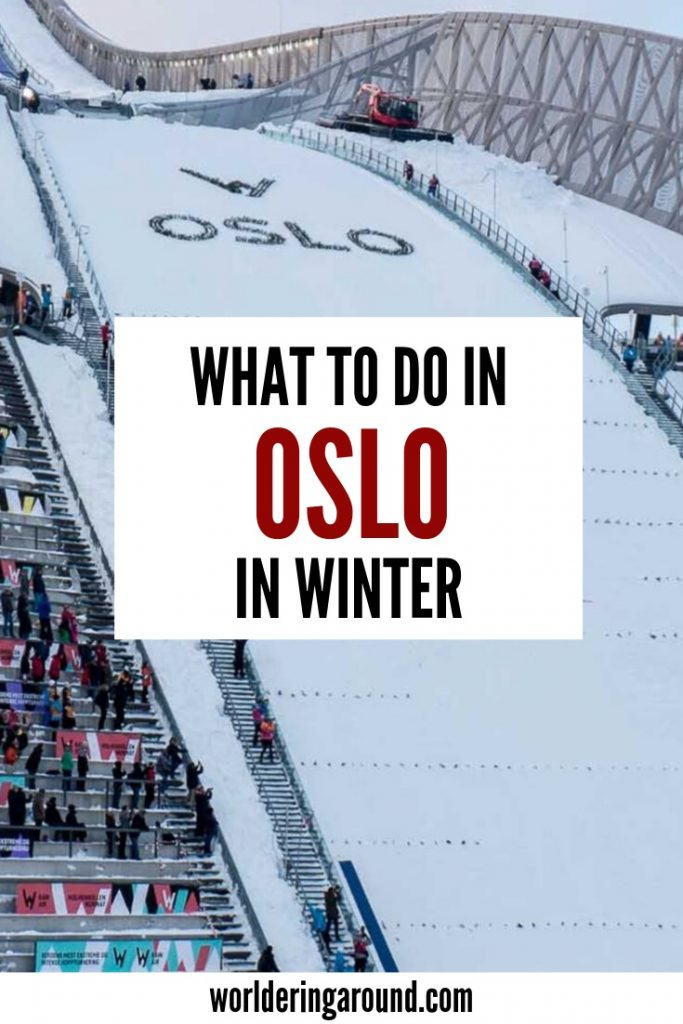 The best things to do in Oslo, Norway in winter. Discover why you should come to Oslo and Norway in winter. Oslo travel guide | Worldering around #oslo #norway #europe #scandinavia #travel #citytravel #cityguide #travelguide