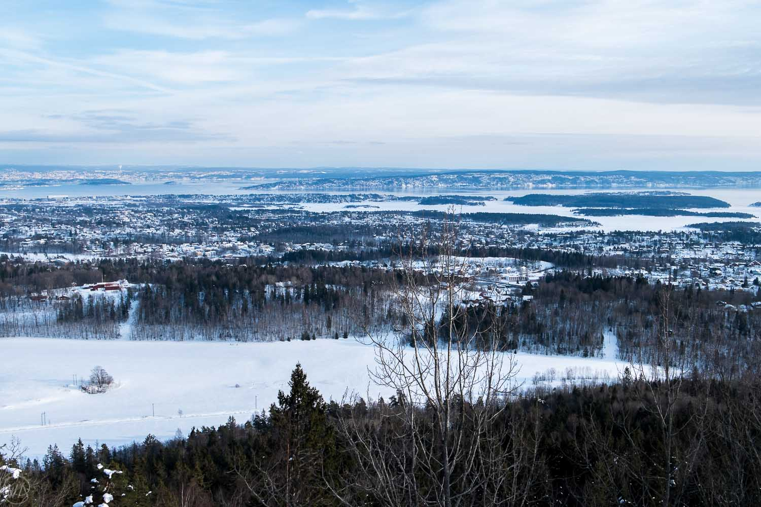 Oslofjorden view, things to do in Oslo in winter, Norway