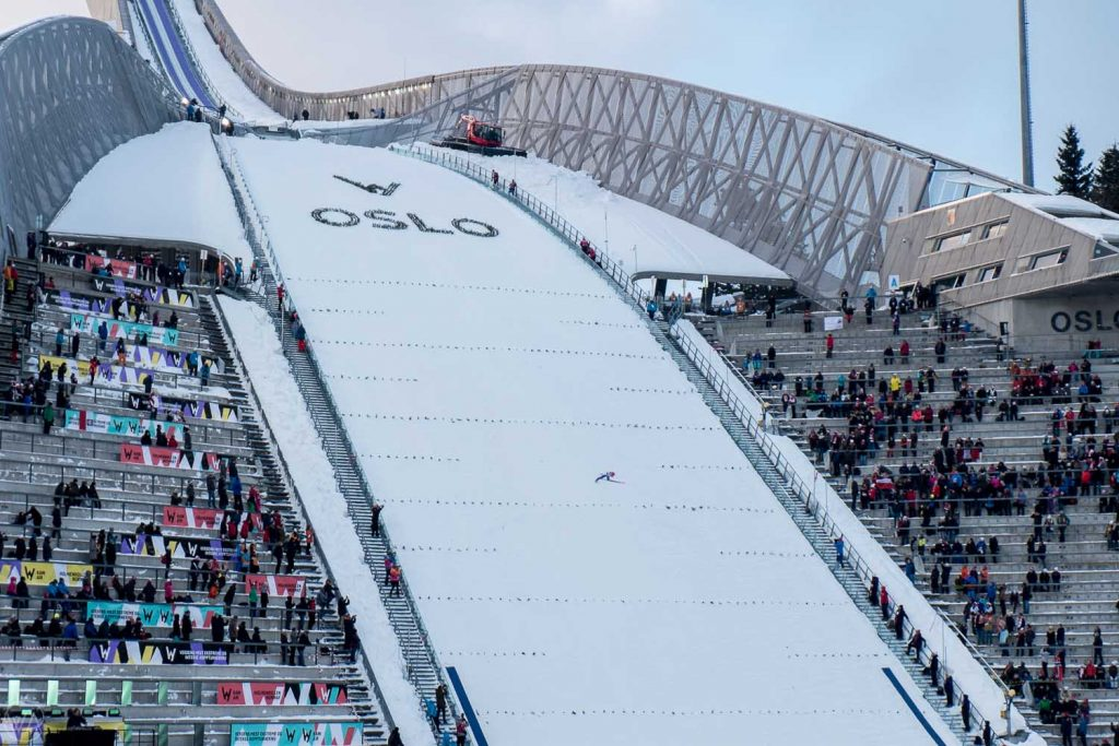 things to do in Oslo in winter, Norway in winter with ski jumping competition