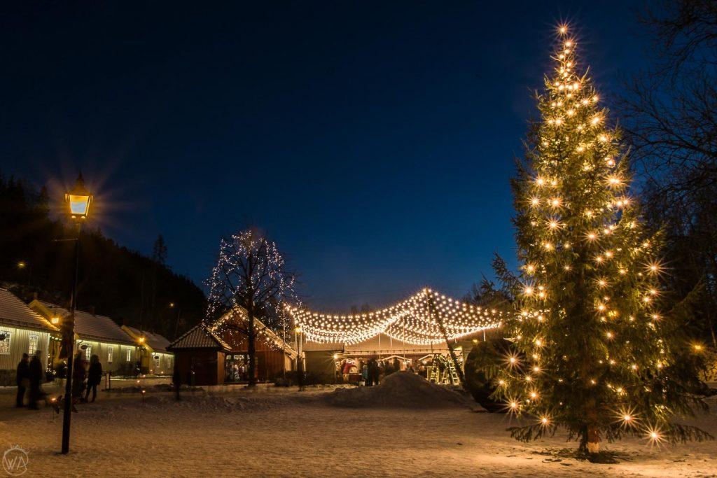 Baerums Verk Christmas market, Oslo, things to do in Oslo in winter, Norway winter