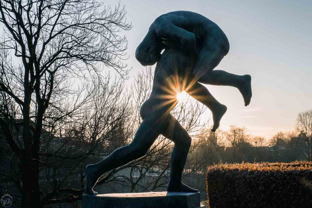 Vigeland Park, Oslo, things to do in Oslo in winter, Norway