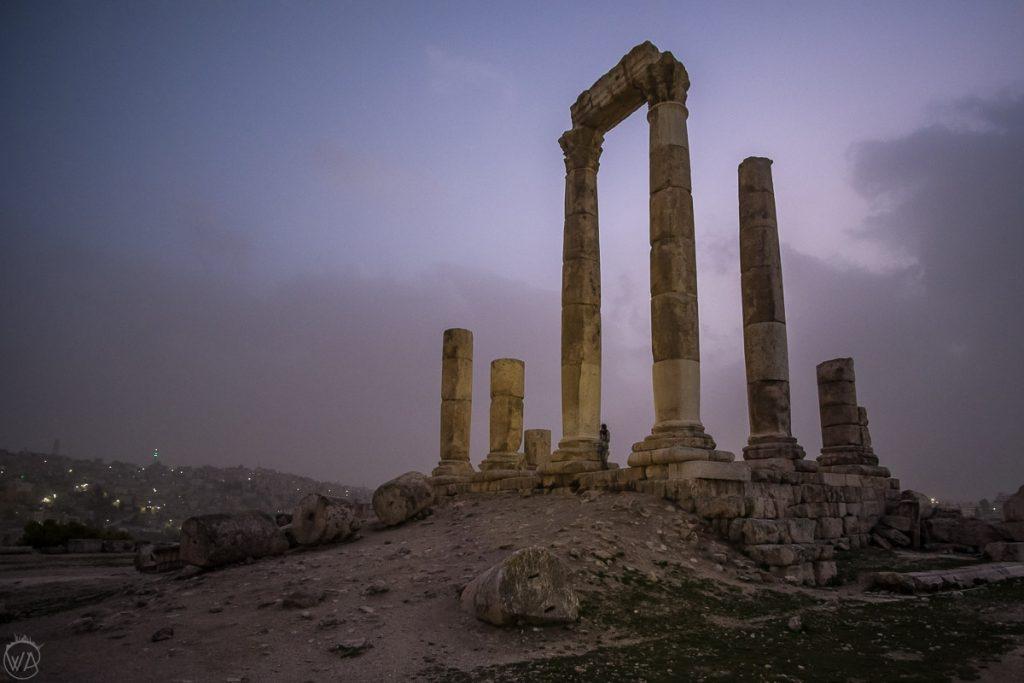 Amman Citadel, Jordan itinerary