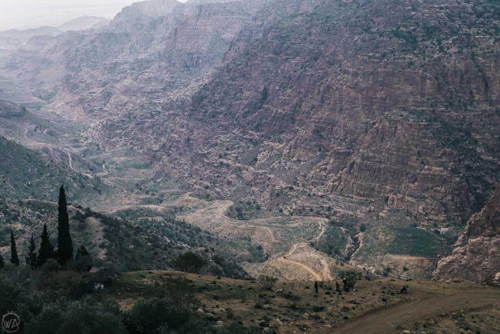 Dana Biosphere Reserve, Wadi Dana Trail