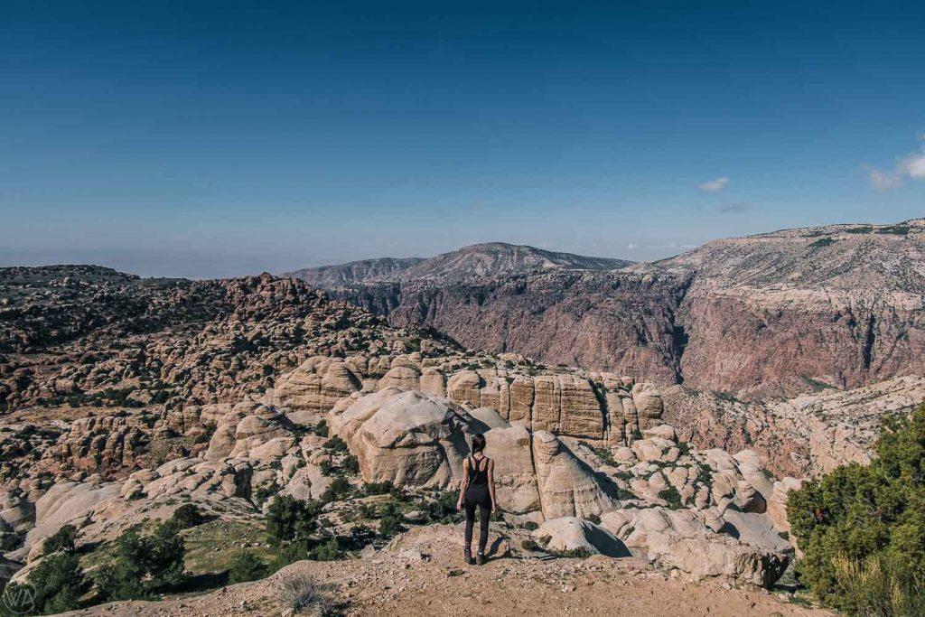 Shaq ar-Reesh Canyon, Dana Reserve, Jordan trip