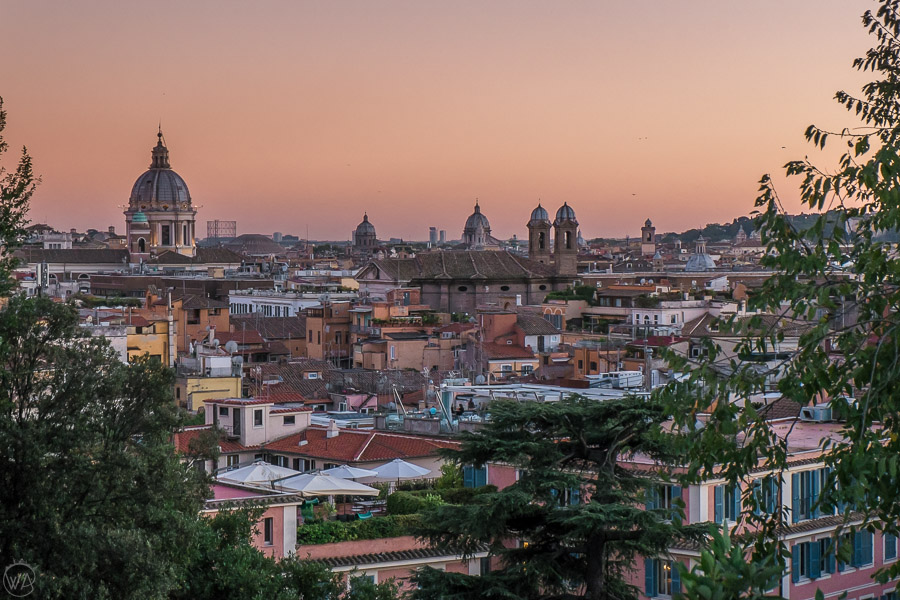 Rome during sunset, Italy