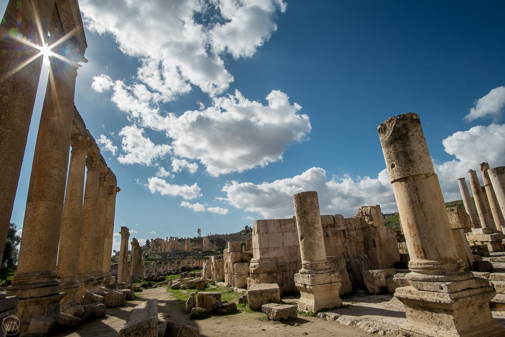 Jerash, Jordan itinerary