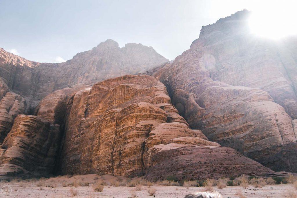 Wadi Rum Rock Formations, Jordan