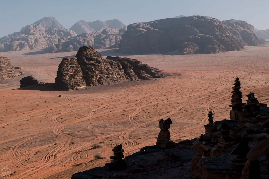 Martian landscape, Wadi Rum, Jordan itinerary