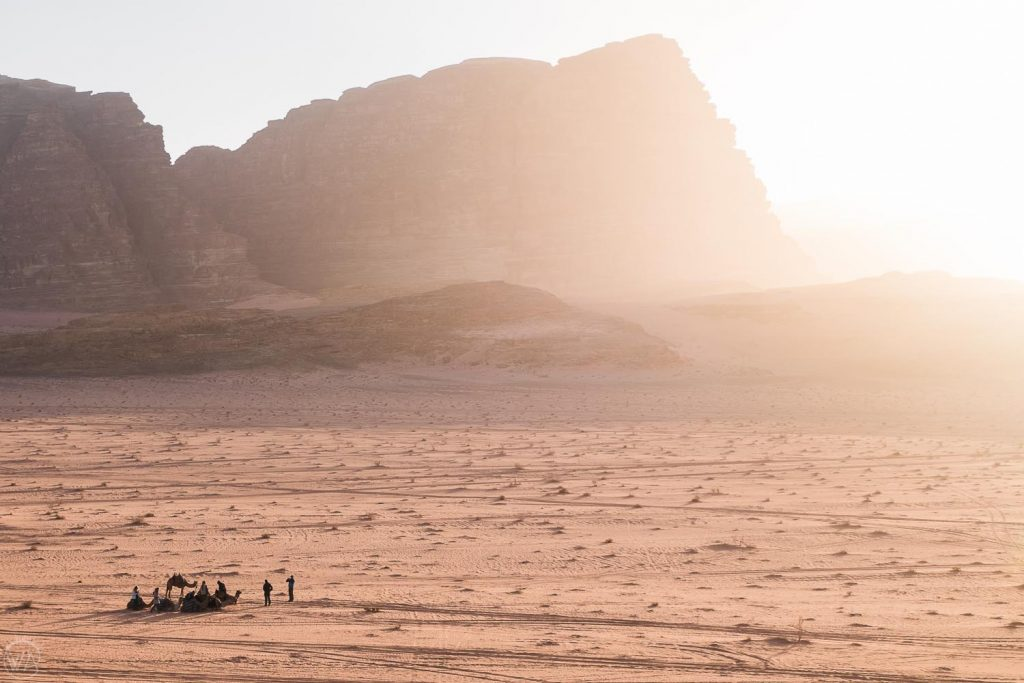 Sunset break, Wadi Rum