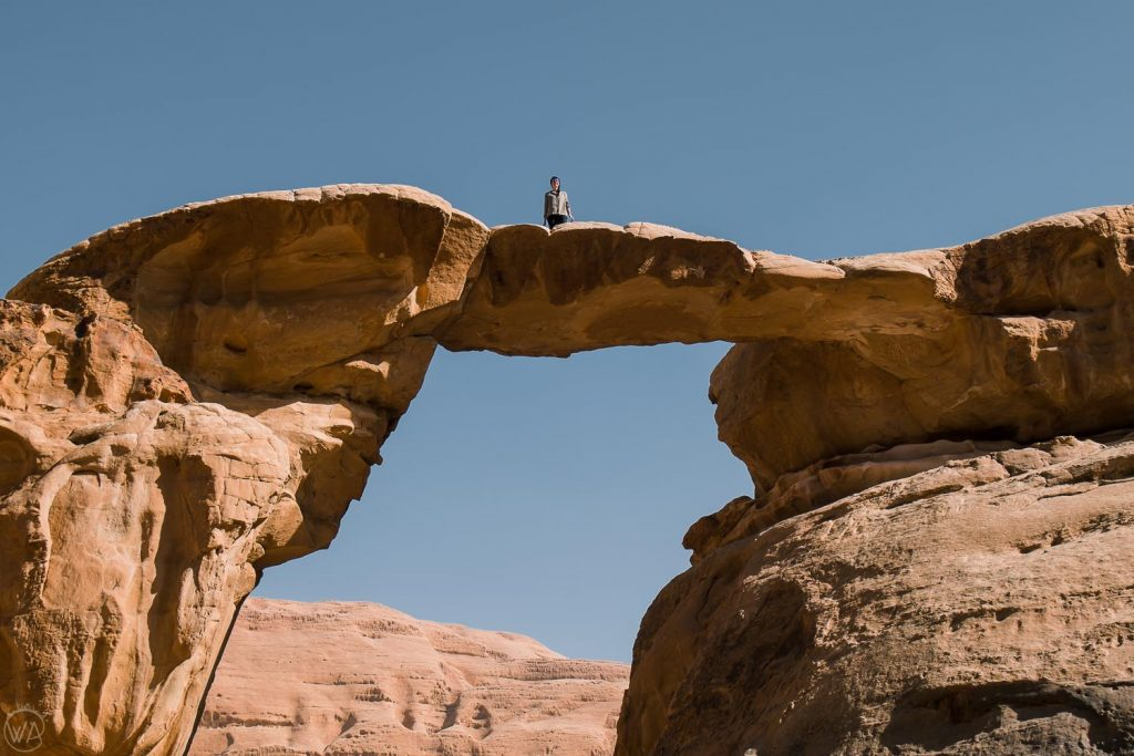 The Um Frouth Arch, Wadi Rum