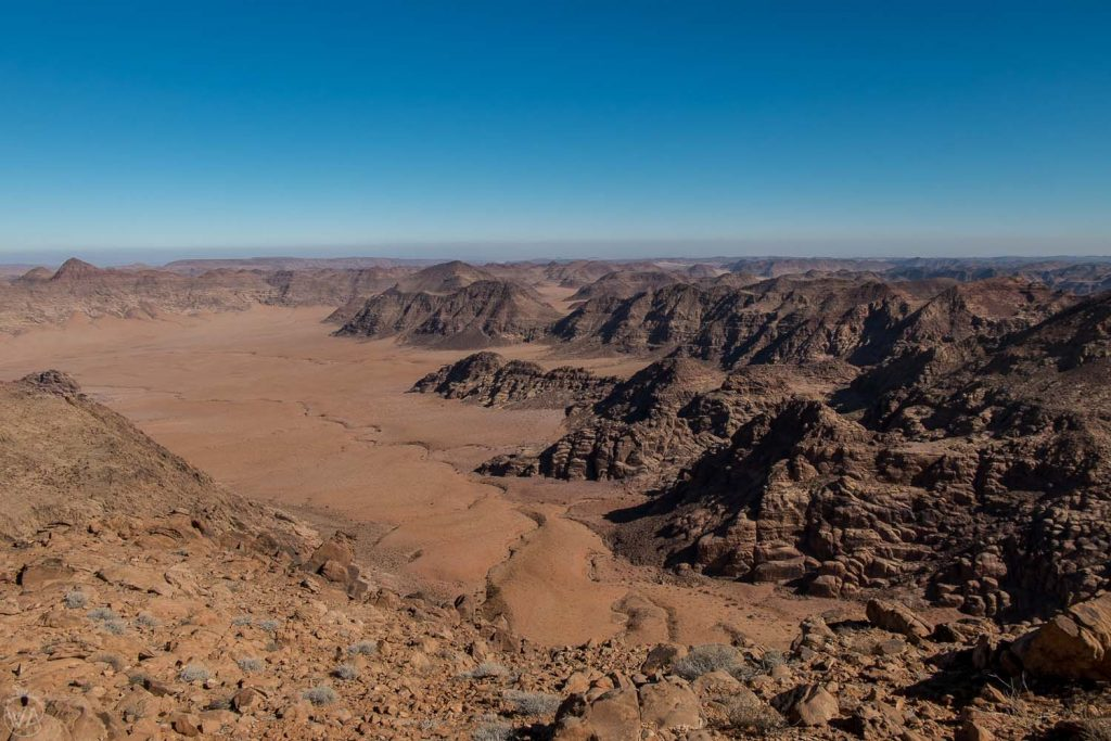 Wadi Rum, view from Jabal Umm ad Dami