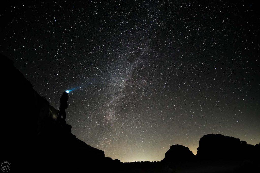 Milky Way in Wadi Rum, Jordan