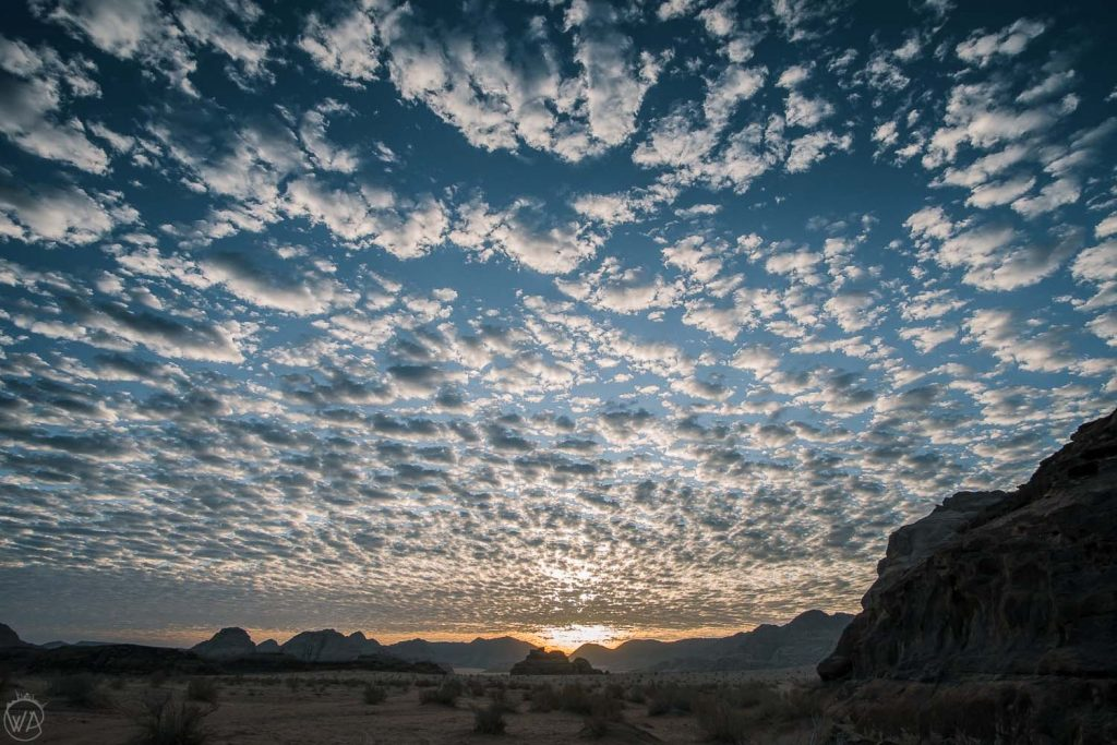 Sunrise in Wadi Rum, Jordan