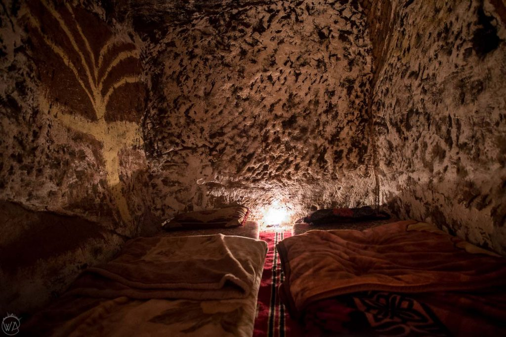 Where to stay in Jordan? In a cave!