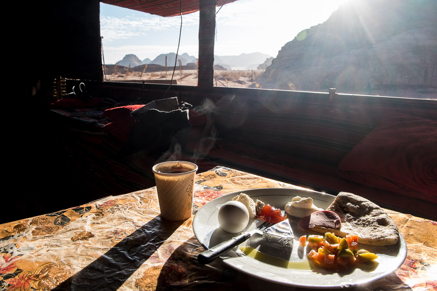 Some of the most traditional hotels in Jordan are in Wadi Rum